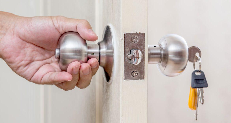 Install on a Bedroom Door